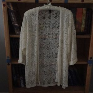 Forever 21 Lace Jacket/Top